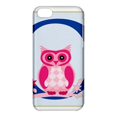 Alphabet Letter O With Owl Illustration Ideal For Teaching Kids Apple Iphone 5c Hardshell Case by Nexatart
