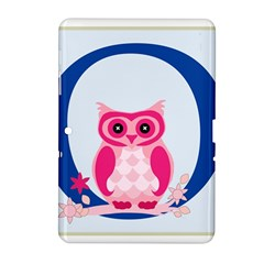 Alphabet Letter O With Owl Illustration Ideal For Teaching Kids Samsung Galaxy Tab 2 (10 1 ) P5100 Hardshell Case  by Nexatart