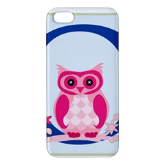 Alphabet Letter O With Owl Illustration Ideal For Teaching Kids Iphone 5s/ Se Premium Hardshell Case