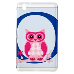 Alphabet Letter O With Owl Illustration Ideal For Teaching Kids Samsung Galaxy Tab Pro 8 4 Hardshell Case by Nexatart