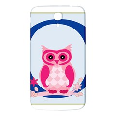 Alphabet Letter O With Owl Illustration Ideal For Teaching Kids Samsung Galaxy Mega I9200 Hardshell Back Case