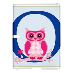 Alphabet Letter O With Owl Illustration Ideal For Teaching Kids Samsung Galaxy Tab S (10 5 ) Hardshell Case  by Nexatart