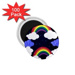 Rainbow Animation 1 75  Magnets (100 Pack)  by Nexatart