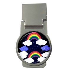 Rainbow Animation Money Clips (round)  by Nexatart