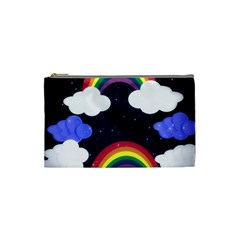 Rainbow Animation Cosmetic Bag (small)  by Nexatart