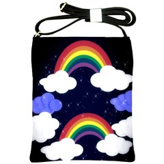 Rainbow Animation Shoulder Sling Bags