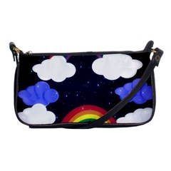 Rainbow Animation Shoulder Clutch Bags by Nexatart