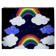 Rainbow Animation Cosmetic Bag (xxxl)  by Nexatart