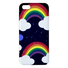 Rainbow Animation Apple Iphone 5 Premium Hardshell Case by Nexatart