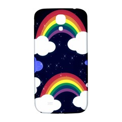 Rainbow Animation Samsung Galaxy S4 I9500/i9505  Hardshell Back Case by Nexatart