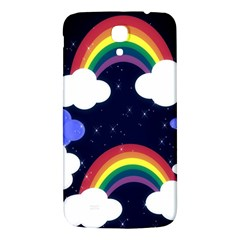Rainbow Animation Samsung Galaxy Mega I9200 Hardshell Back Case