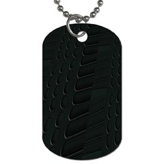 Abstract Clutter Dog Tag (two Sides)