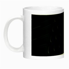 Abstract Clutter Night Luminous Mugs