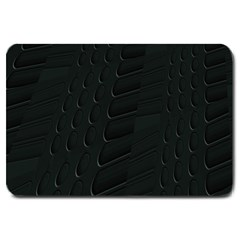 Abstract Clutter Large Doormat  by Nexatart