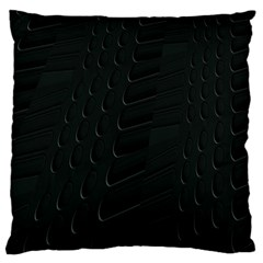 Abstract Clutter Large Cushion Case (two Sides) by Nexatart
