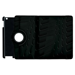 Abstract Clutter Apple Ipad 2 Flip 360 Case
