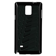 Abstract Clutter Samsung Galaxy Note 4 Case (black)