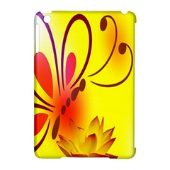 Butterfly Background Wallpaper Texture Apple Ipad Mini Hardshell Case (compatible With Smart Cover) by Nexatart
