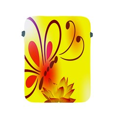Butterfly Background Wallpaper Texture Apple Ipad 2/3/4 Protective Soft Cases by Nexatart