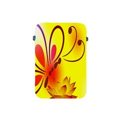 Butterfly Background Wallpaper Texture Apple Ipad Mini Protective Soft Cases by Nexatart