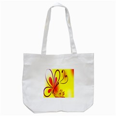 Butterfly Background Wallpaper Texture Tote Bag (white) by Nexatart