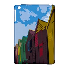 Brightly Colored Dressing Huts Apple Ipad Mini Hardshell Case (compatible With Smart Cover) by Nexatart
