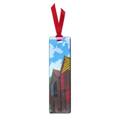 Brightly Colored Dressing Huts Small Book Marks by Nexatart