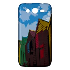 Brightly Colored Dressing Huts Samsung Galaxy Mega 5 8 I9152 Hardshell Case