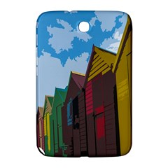 Brightly Colored Dressing Huts Samsung Galaxy Note 8 0 N5100 Hardshell Case  by Nexatart