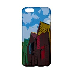 Brightly Colored Dressing Huts Apple Iphone 6/6s Hardshell Case