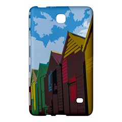 Brightly Colored Dressing Huts Samsung Galaxy Tab 4 (8 ) Hardshell Case