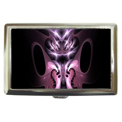 Angry Mantis Fractal In Shades Of Purple Cigarette Money Cases by Nexatart
