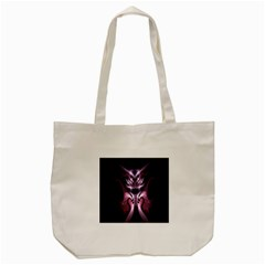 Angry Mantis Fractal In Shades Of Purple Tote Bag (cream)
