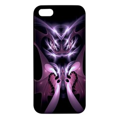 Angry Mantis Fractal In Shades Of Purple Apple Iphone 5 Premium Hardshell Case