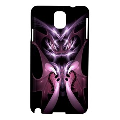 Angry Mantis Fractal In Shades Of Purple Samsung Galaxy Note 3 N9005 Hardshell Case by Nexatart