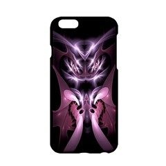 Angry Mantis Fractal In Shades Of Purple Apple Iphone 6/6s Hardshell Case by Nexatart