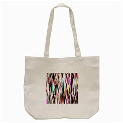 Randomized Colors Background Wallpaper Tote Bag (cream) by Nexatart