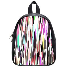 Randomized Colors Background Wallpaper School Bags (small)