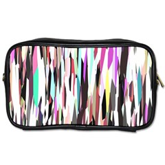Randomized Colors Background Wallpaper Toiletries Bags 2 Side