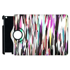 Randomized Colors Background Wallpaper Apple Ipad 3/4 Flip 360 Case by Nexatart