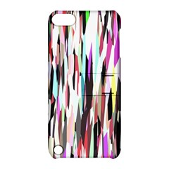 Randomized Colors Background Wallpaper Apple Ipod Touch 5 Hardshell Case With Stand by Nexatart