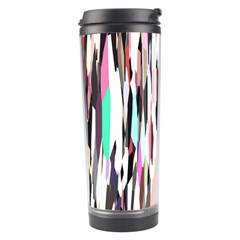 Randomized Colors Background Wallpaper Travel Tumbler