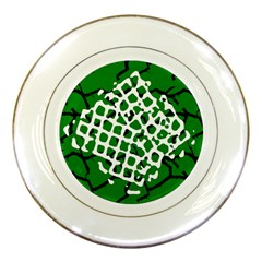 Abstract Clutter Porcelain Plates