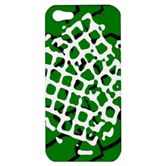 Abstract Clutter Apple Iphone 5 Hardshell Case