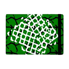Abstract Clutter Apple Ipad Mini Flip Case