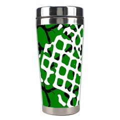 Abstract Clutter Stainless Steel Travel Tumblers