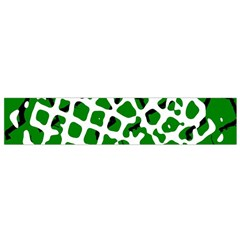 Abstract Clutter Flano Scarf (small)