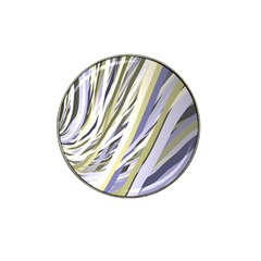 Wavy Ribbons Background Wallpaper Hat Clip Ball Marker (10 Pack) by Nexatart