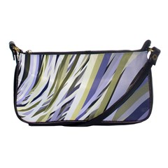 Wavy Ribbons Background Wallpaper Shoulder Clutch Bags by Nexatart