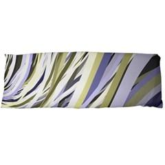 Wavy Ribbons Background Wallpaper Body Pillow Case (dakimakura)